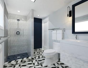 Real Client Bathroom Rendering