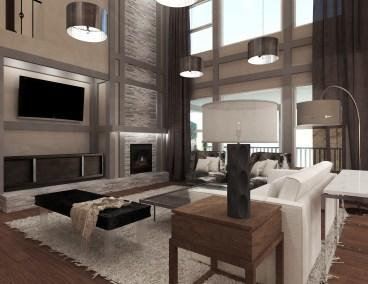 Real Client Greatroom Rendering