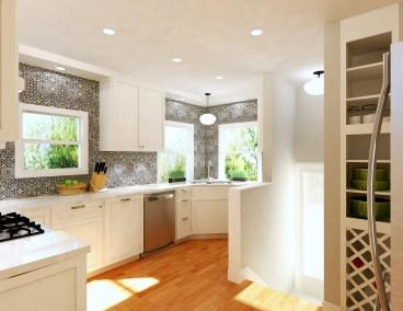 Real Client Kitchen Rendering