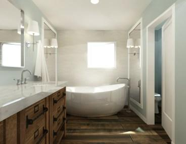Master Bathroom Rendering